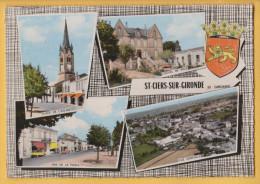 SAINT CIERS SUR GIRONDE 33 ( MULTIVUES ) - France