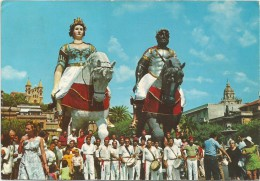 K1677 Messina - Agosto Messinese - Mata E Grifone / Viaggiata 1980 - Messina