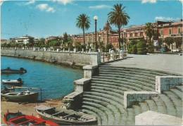 K1679 Messina - Sbarcadero Sul Lungomare - Barche Boats Bateaux / Viaggiata 1978 - Messina
