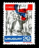 URUGUAI - URUGUAY - Juan Antonio Lavalleja - Year 1966 - Nuovo - News.MNH **. - Uruguay