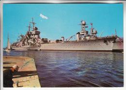 BATEAUX DE GUERRE ( FRANCE ) : Le JEAN BART Au Port De TOULON - CPM GF 1977 - War Ship Boat - Guerre