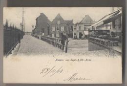 Anvers - Les caf�s � Saint Anne - Antwerpen - Linkeroever