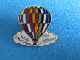 PIN´S PINS MONTGOLFIÈRE THE WILLIAMS WILD BLUE YONDER - Airships