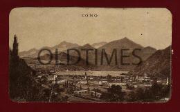 SWISS ALPS - COMO - LANDSCAPE - ALEXANDER MAXIMILIAN SEITZ - 1900 OLD PRINT - Old Paper