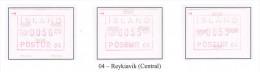 126 - IJSLAND MNH POSTFRISCH EINWANDFREI ATM MICHEL 2.4 - Vignettes D'affranchissement (Frama)