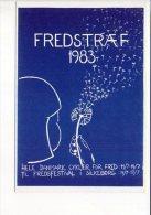 Anti-Militaria-Militaire: Fredstraef 83 - Til Fredsfestival I Silkeborg / Festival De La Paix à Silkeborg - Autres