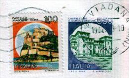 VIADANA - MN - Anno 1991 - Timbri