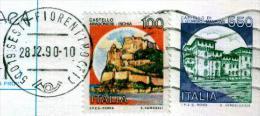 SESTO FIORENTINO - FI - Anno 1990 - Timbri