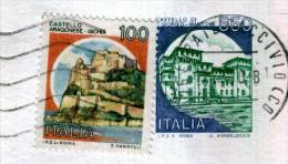 LURATE CACCIVIO - CO - Anno 1990 - Timbri