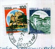 BERBENNO - BG  - Anno 1991 - Timbri