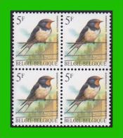 BUZIN - 2475** Hirondelle De Cheminée / Boerenzwaluw - CPL+W (witte Gom Blanche) - 1985-.. Pájaros (Buzin)