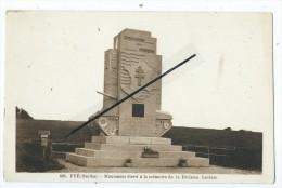 CPA - Fyé - Monument élevé à La Mémoire De La Division Leclerc - France