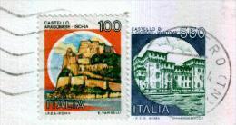 LAGO DI TESERO - TN  - Anno 1991 - Timbri