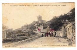 CPA (26) CHATEAUNEUF DE MAZENC : Entrée Du Village - Frankrijk