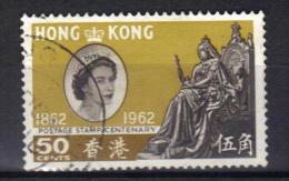 W882 - HONG KONG 1962 , Elisabetta  Yvert N. 193  Usato - Usati