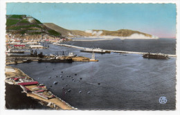 Alg�rie--ORAN--Le Port et la Montagne de Santa-Cruz (bateaux),cpsm 14 x 9 n� 133 �d Sirecky