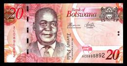 BOTSWANA : Banconota 20 Pula - 2012 - FDS - Botswana