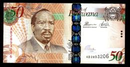 BOTSWANA : Banconota 50 Pula - 2012 - FDS - Botswana