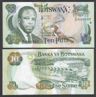 BOTSWANA : Banconota 10 Pula - 2007 - UNC - Botswana