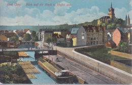 Bas Cleve  Kleve   Blick Auf Die Stadt V. Hafen Aus          Scan 8736 - Kleve