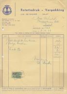 BELGIË/BELGIQUE:1968:Factuur Van/Facture De  ##LUCAL:Rotatiedruk-Verpakking Luc DE BACKER, AALST## - VERHULST Fr., AALST - Printing & Stationeries