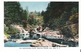 The Ammonoosuc River, Bretton Woods, White Mountains, New Hampshire