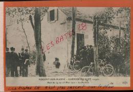CPA  94 NOGENT SUR MARNE    GARNIER Et VALET  Traqués  En 1912  Le Pavillon  PERSONNAGES  NOV 2014 DIV  738 - Vari