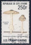 Ivory Coast, Scott # 978 Used Mushrooms, 1995 - Côte D'Ivoire (1960-...)