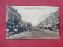 - Iowa> Charles City  Main Street     ref 1611