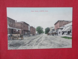 - Iowa>  Lisbon   Main Street     ref 1611