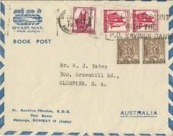 India Cover Sent To Australia - India