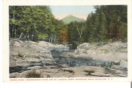 Agassiz Basin, Pemigewassett River and Mt. Lincoln, North Woodstock, White Mountains, New Hampshire