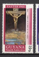 Guyana, Christ De Saint Jean De La Croix, Salvador Dali, Pâques, Easter, Bateau, Boat, Christ Of St John Of The Cross - Religious