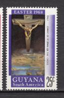 Guyana, Christ De Saint Jean De La Croix, Salvador Dali, Pâques, Easter, Bateau, Boat, Christ Of St John Of The Cross - Religieux