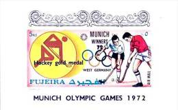 FUJEIRA 1972 SUMMER OLYMPICS - GERMANY / FIELD HOCKEY S/S (3ALL) - Summer 1972: Munich
