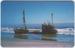 NAMIBIA A-045 Chip Telecom - Landscape, Coast, Wreck - used