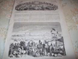 L�UNIVERS ILLUSTRE 13 JUIN 1866 : DEPART DU MAHMAL POUR LA MECQUE - COURSES DE SCHLEITHAL -