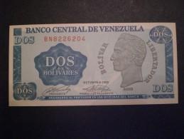 BANKNOTE VENEZUELA 2 BOLIVARES NICE CONSERVATION - Billets