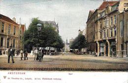 [DC5929] CARTOLINA - PAESI BASSI - AMSTERDAM - SPUL - Viaggiata 1905 - Original Old Postcard - Amsterdam