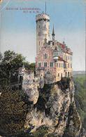 [DC5931] CARTOLINA - GERMANIA - SCHLOSS LICHTENSTEIN - Viaggiata 1913 - Original Old Postcard - Lichtenstein