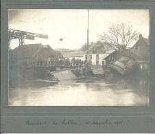 Lobbbes -Accident de p�niche  16 d�cembre 1916 Photo sur carton