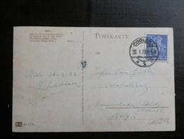 46/203  CP   ALLEMAGNE POUR LA BELG. - Briefe U. Dokumente