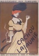 CARTE PUBLICITAIRE NUGERON  CACHOU LAJAUNIE D´APRES  CAPPIELLO ? - Advertising