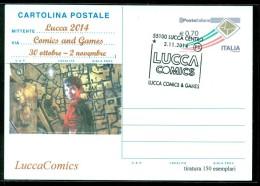 GIOCHI-LUCCA-LUCCA COMICS & GAMES-FUMETTI-CARTOLINA POSTALE-SOPRASTAMPA PRIVATA-EVENTI VARI - MOSTRE-BORSE COLLEZIONISMO - Cartoline