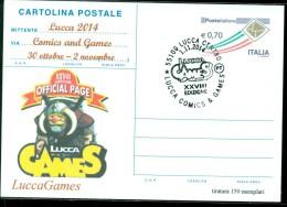 FUMETTI-LUCCA-LUCCA COMICS & GAMES-GIOCHI-CARTOLINA POSTALE-SOPRASTAMPA PRIVATA-EVENTI VARI - MOSTRE-BORSE COLLEZIONISMO - Cartoline