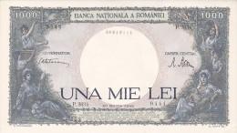 2058A,  BANKNOTE, 1000, UNA MIE LEI, 20 MARTIE1945, ROMANIA. - Rumania