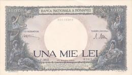 2058A,  BANKNOTE, 1000, UNA MIE LEI, 20 MARTIE 1945, ROMANIA. - Rumania