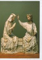 MUSEE LOUVRE. COURONNEMENT DE LA VIERGE - Sculptures