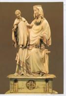 ASSISE. TRESOR DE SAN FRANCESCO. STATUETTE VIERGE A L'ENFANT - Sculptures