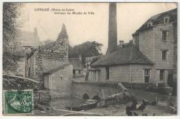 49 - LONGUE - Intérieur Du Moulin De Ville - 1908 - France